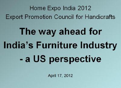Home Expo India 2012 - New Delhi, India